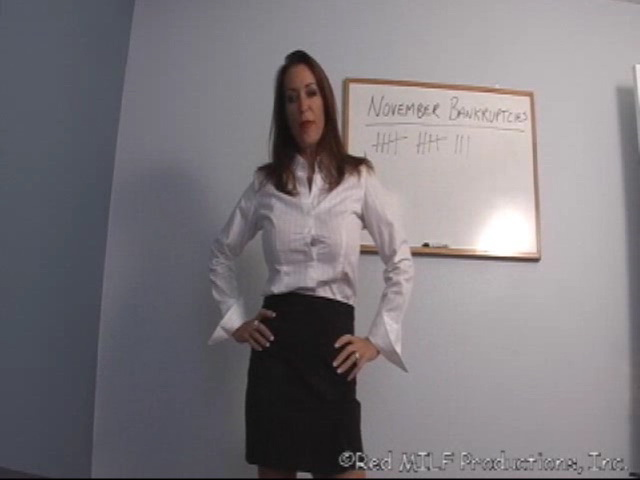 Rachel Steele has given us an exclusive clip for a custom videoshe made.  Poor Rachel has to go to a credit counselor, who uses less than ethical  means to ...